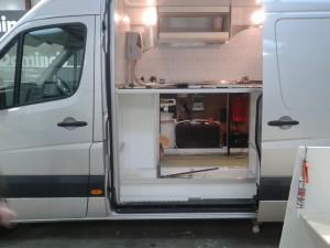cooper van in build