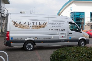 kaputino coffee van