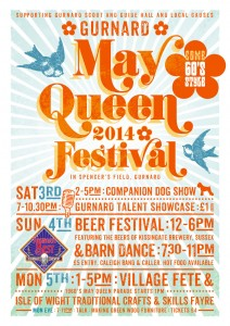 Gurnard May Queen Festival 2014