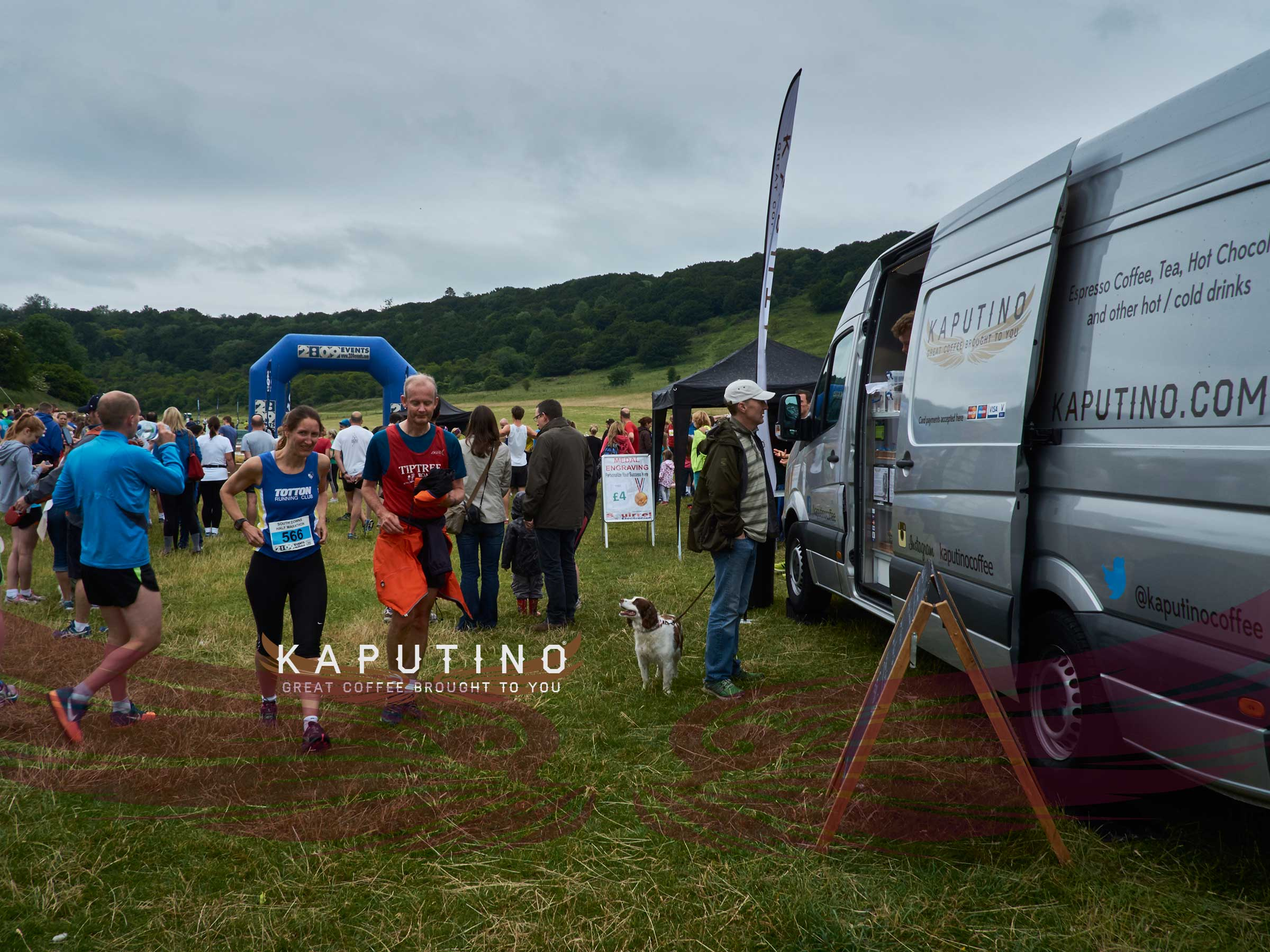 great-south-run-2015-kaputino-coffee-van